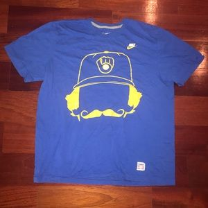 Nike T-shirt size XL baseball hall of fame